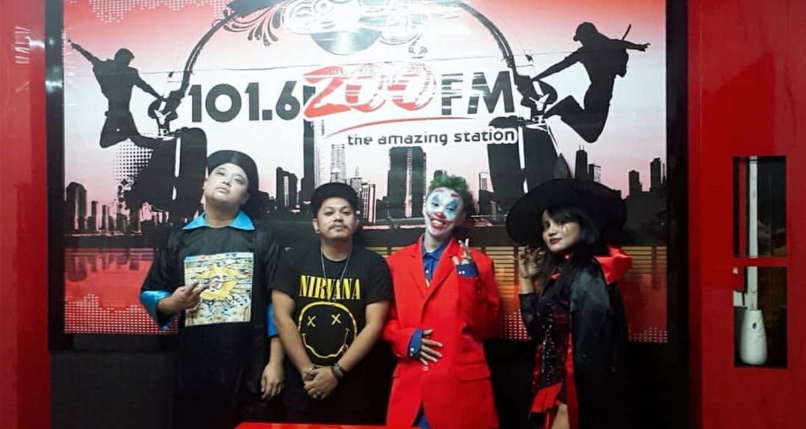 Party Point mengunjungi Zoofm Batam
